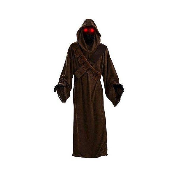 Star Wars Jawa Adult Costume, Brown ($48) ❤ liked on Polyvore featuring costumes, brown, halloween, adult costume, star wars adult costumes, star wars halloween costumes, adult halloween costumes and star wars costumes