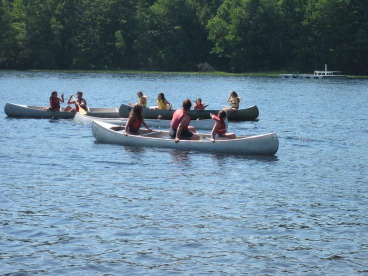 A beautiful summer day at Camp!