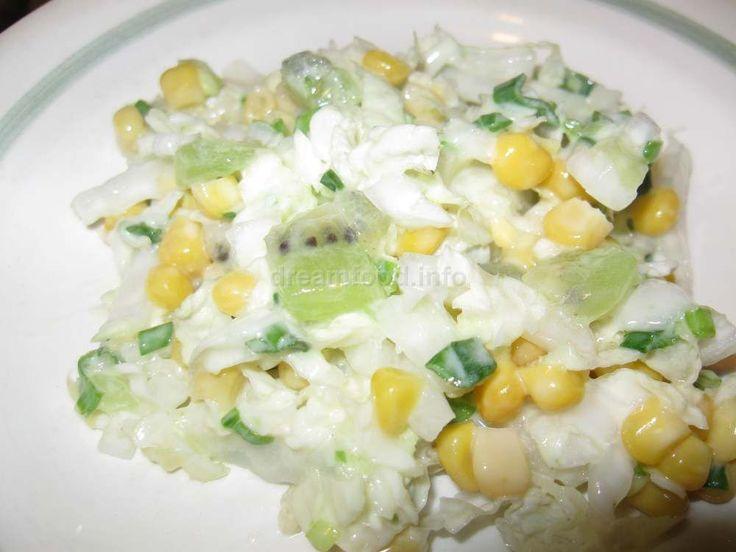 Рецепты - салат из капусты краснокочанной