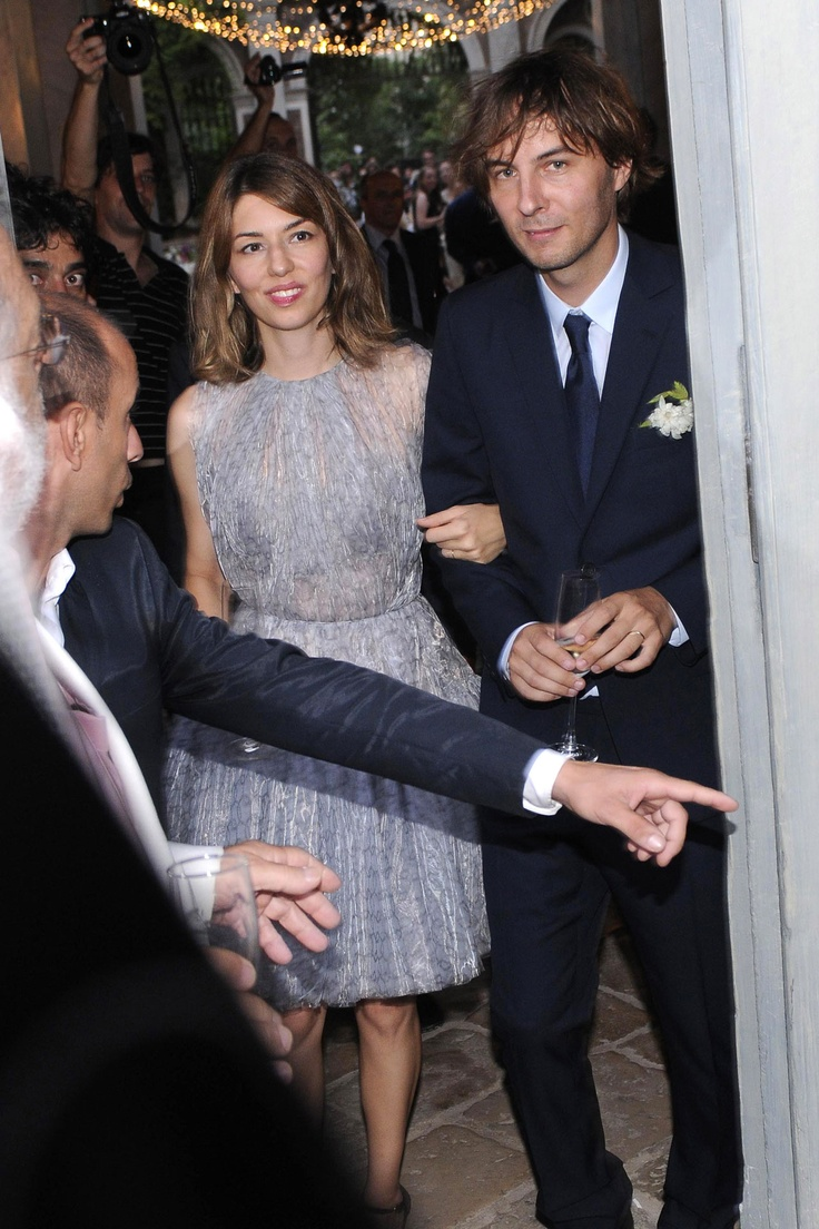 Sofia Coppola & Thomas Mars' wedding