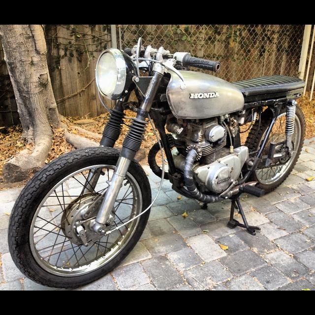 1971 honda cb175 custom - http://losangeles.craigslist/lac/mcy
