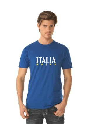 ITALIA FC Soccer Shirts and Apparel. This design is printed on Next Level Men&#3...