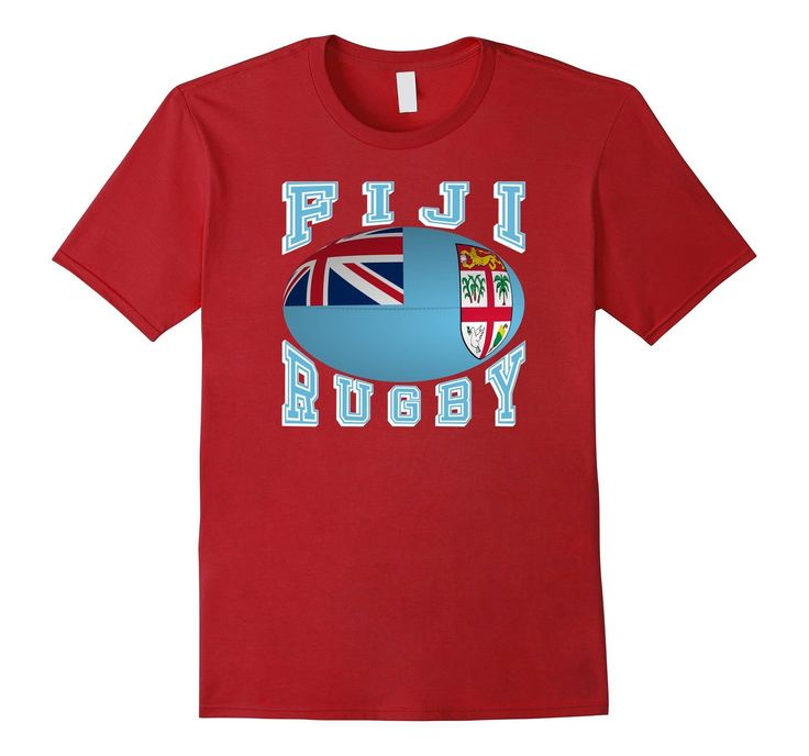 #Fiji Rugby Fans National Flag #Rugby Ball #TShirt your #Rio2016 teams #rugby7s #olympics  http://amzn.to/29AcPK5