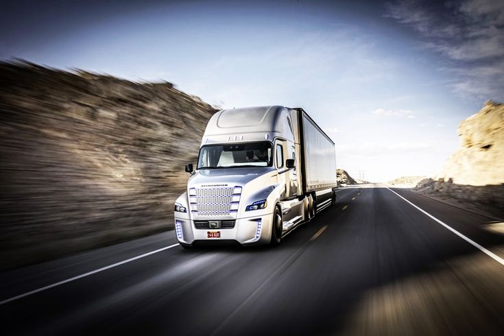 DRIVERLESS TRUCKS - The imminent need for basic income in recognition of our machine-driven future