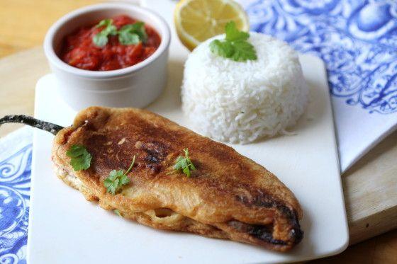 Chiles Rellenos Recipe With Tomato Broth - Food.com