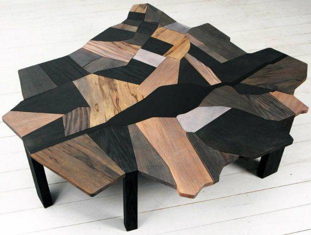 Ezri Tarazi Contemporary Coffee Table  | Discover more coffee tables ideas: www.bocadolobo.com #moderncoffeetables #luxurycoffeetables