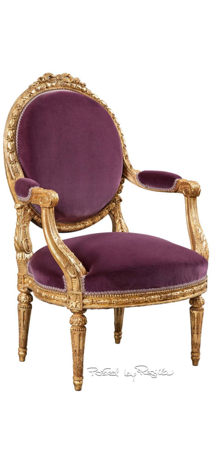 Louis XVI Neo-Classic  French Neoclassic/Louis XVI 1760-1789 MOTIFS: Return of classic orders and motifs ARCHITECTURE: Once again the exteriors showed the classical orders of architecture by using pillars, etc.. INTERIORS: NO rounded corners, rectangular rooms and moldings, no rounded ceilings. COLORS: Pastels FURNITURE: Legs straight and tapered-- gain legs, Chairs backs were oval or rectangle.