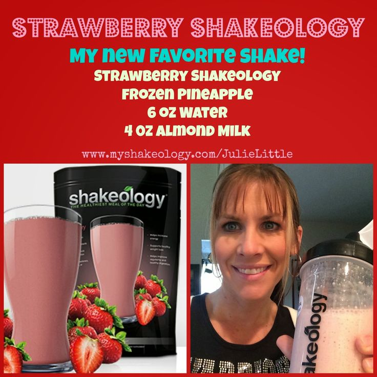 Strawberry-Pineapple Shakeology Recipe…and more! www.HealthyFitFocused.com