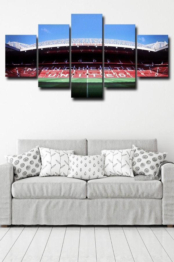 Sir Alex Ferguson Manchester Art Photo Modern Framed Prints Hang Wall Decor Home