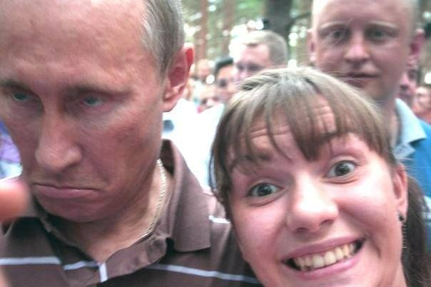 Путин Селфи года :)