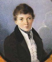 Лев Александрович Соллогуб (1812-1852). Родители - Александр Иванович Соллогуб (1787-1843) и Софья Ивановна Архарова  (1791-1854)