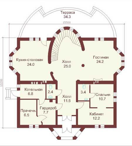 проекты загородных замков