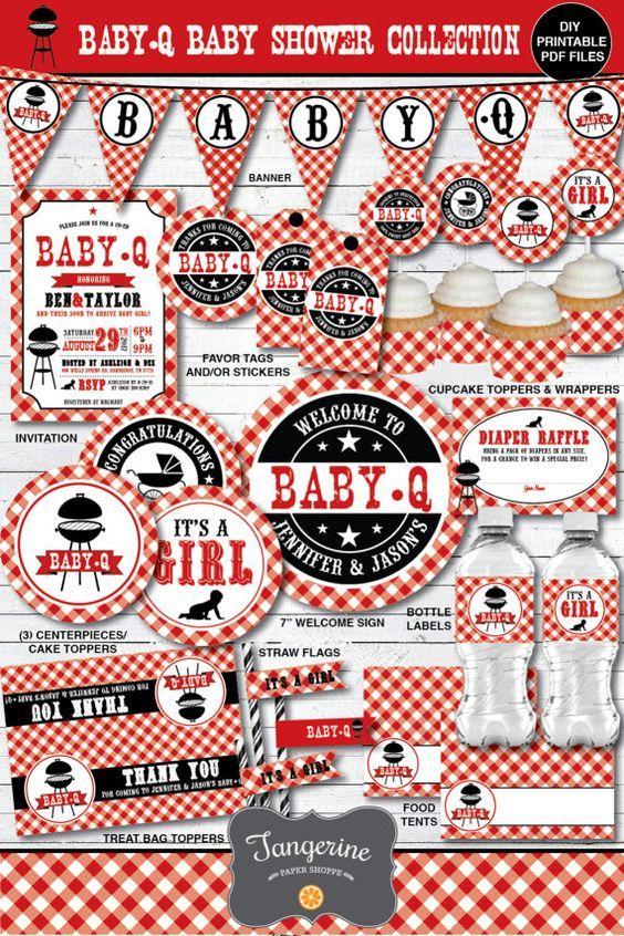 Baby shower bbq ideas