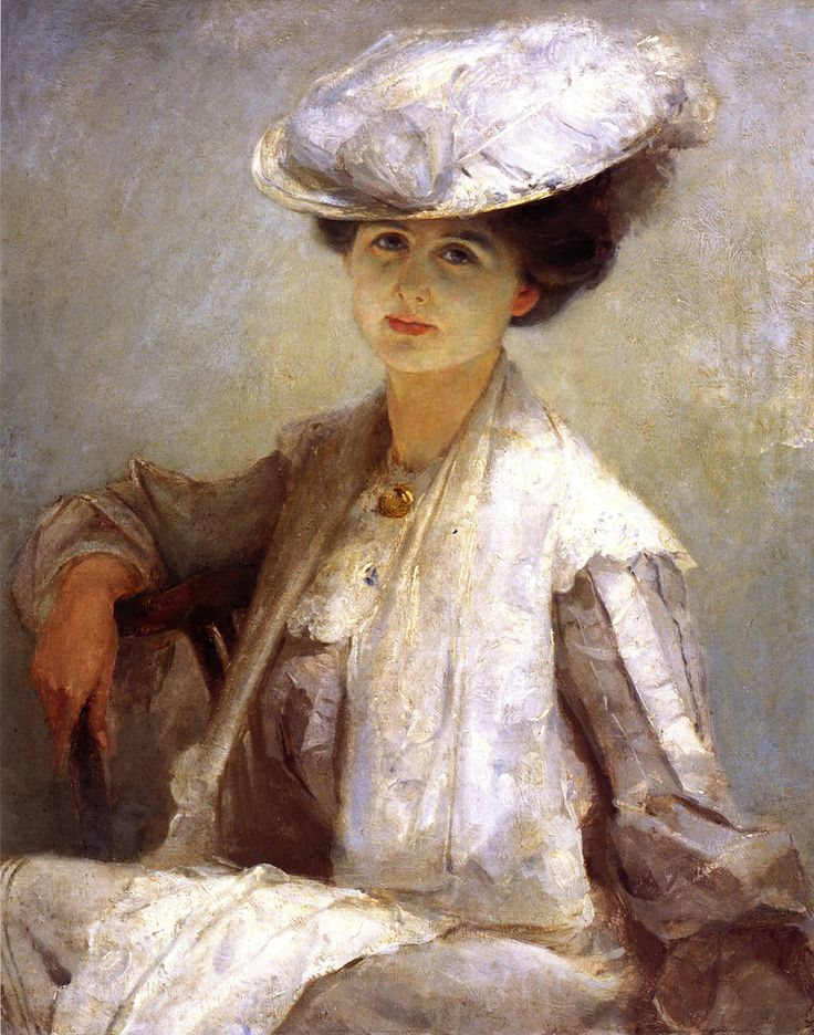 Grey Lady (Mrs. Ince)  Tom Roberts