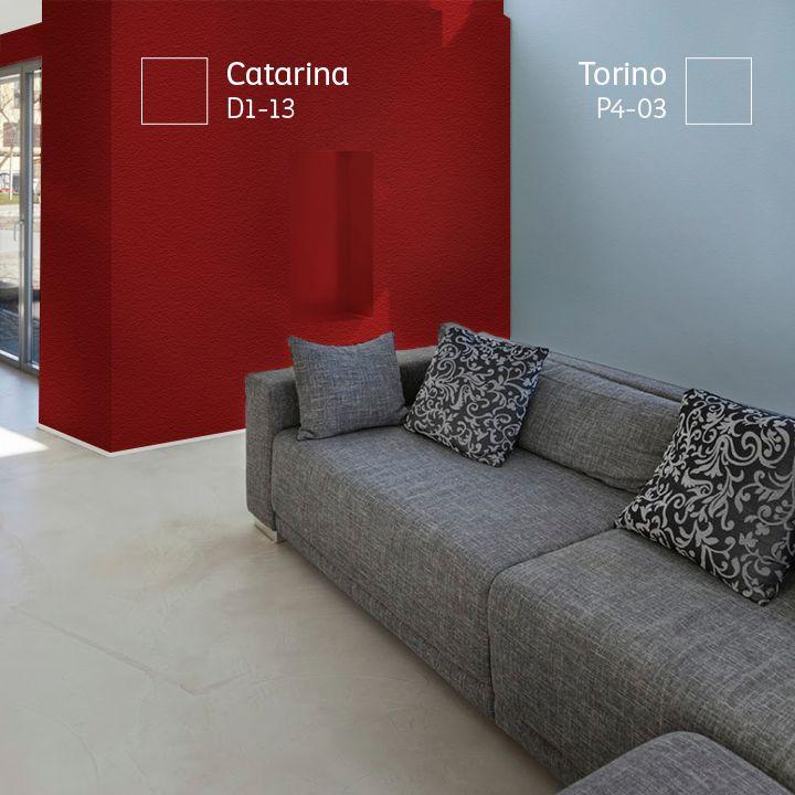 Si tu casa es fría, procura usar colores cálidos para compensar el ambiente.