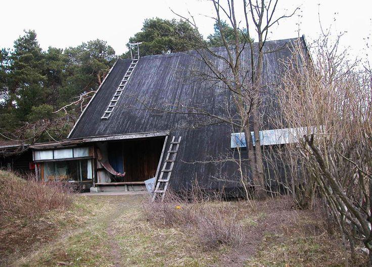 Oskar Hansen, dom architekta w Szuminie, fot. Andrzej Przywara / dzięki uprzejmości Fundacji Galerii Foksal