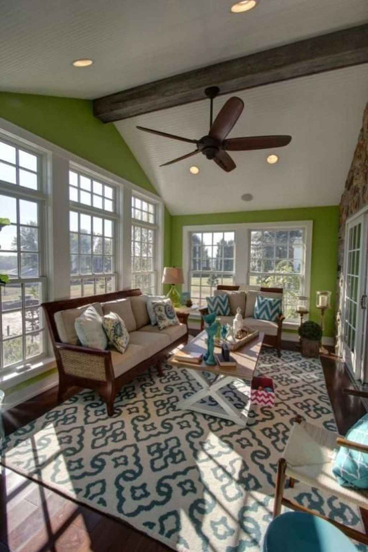 39 Affordable Modern Sunroom Decor Ideas in 2020   Sunroom ...