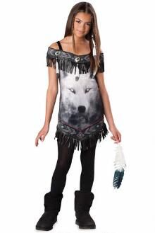 wolf spirit costume for girls halloween costumes for