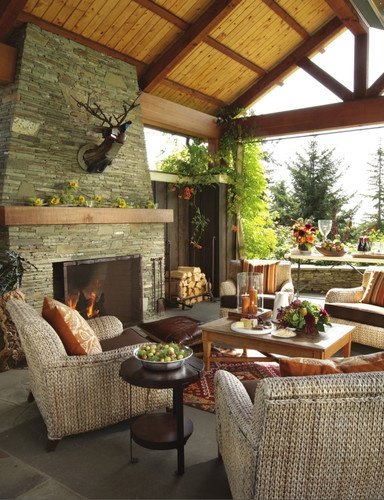 17 best ideas about outdoor living rooms on pinterest outdoor rooms outdoor living areas and. Black Bedroom Furniture Sets. Home Design Ideas
