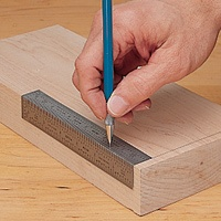 INCRA Precision Bend Rules - The markings are perforated so it is easier to make accurate marks and precision cuts.