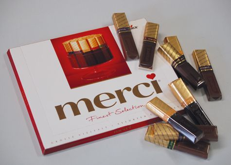 Merci Chocolate - the best!!