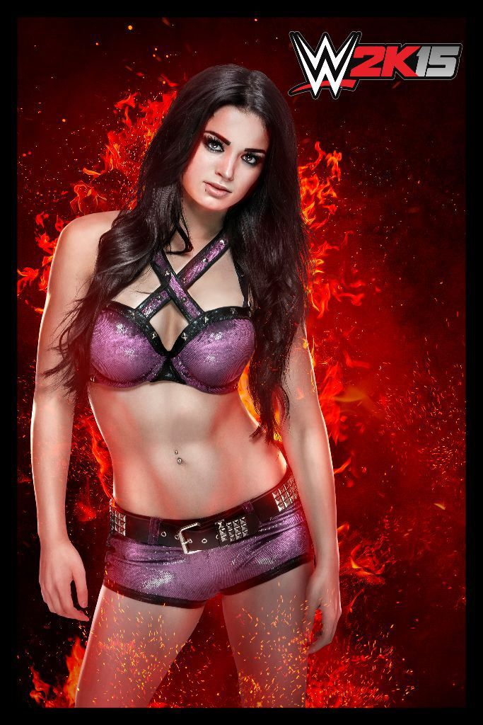 WWE Diva Paige joins the WWE 2K15 roster