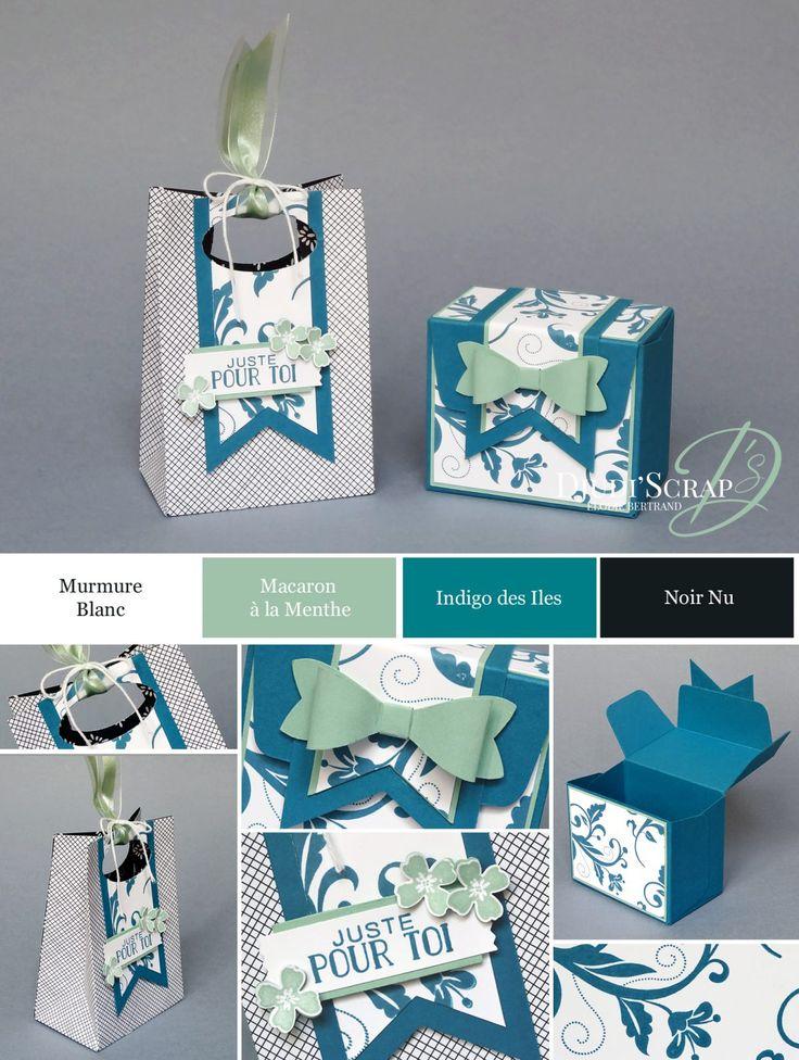 "Djudi'Scrap Stampin'Up! - Tutoriel Pochette et Boîte Cadeau ""Insta'Pochette / Gift Bag Punch Board"""