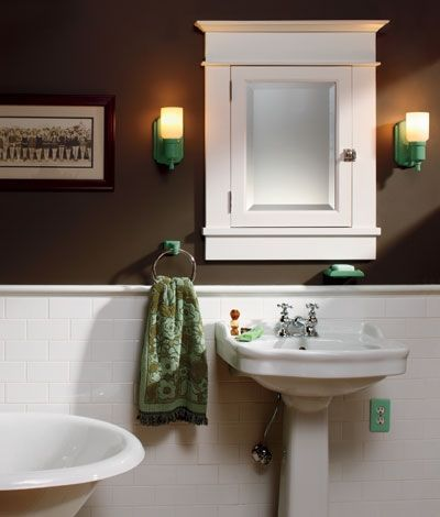 17 best images about arts and crafts style on pinterest for Arts and crafts bathroom design ideas