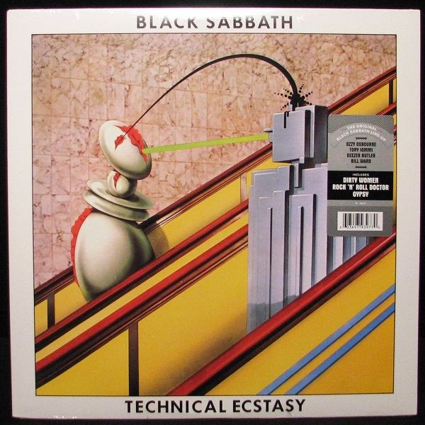 Black Sabbath - Technical Ecstasy (Vinyl, LP, Album) at Discogs