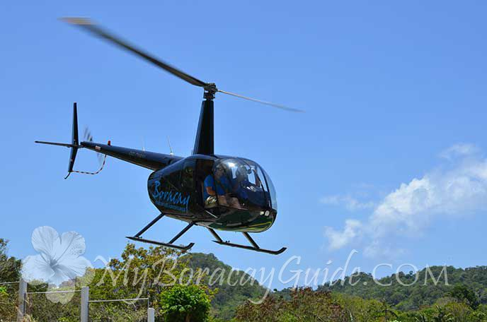VIP Helicopter Transfer - Boracay Hotels, My Boracay Guide Lowest Price Hotels In Boracay #Boracay #vacationideas