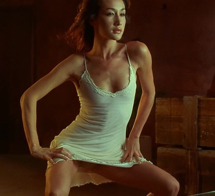 Maggie Q In Naked Weapon 57