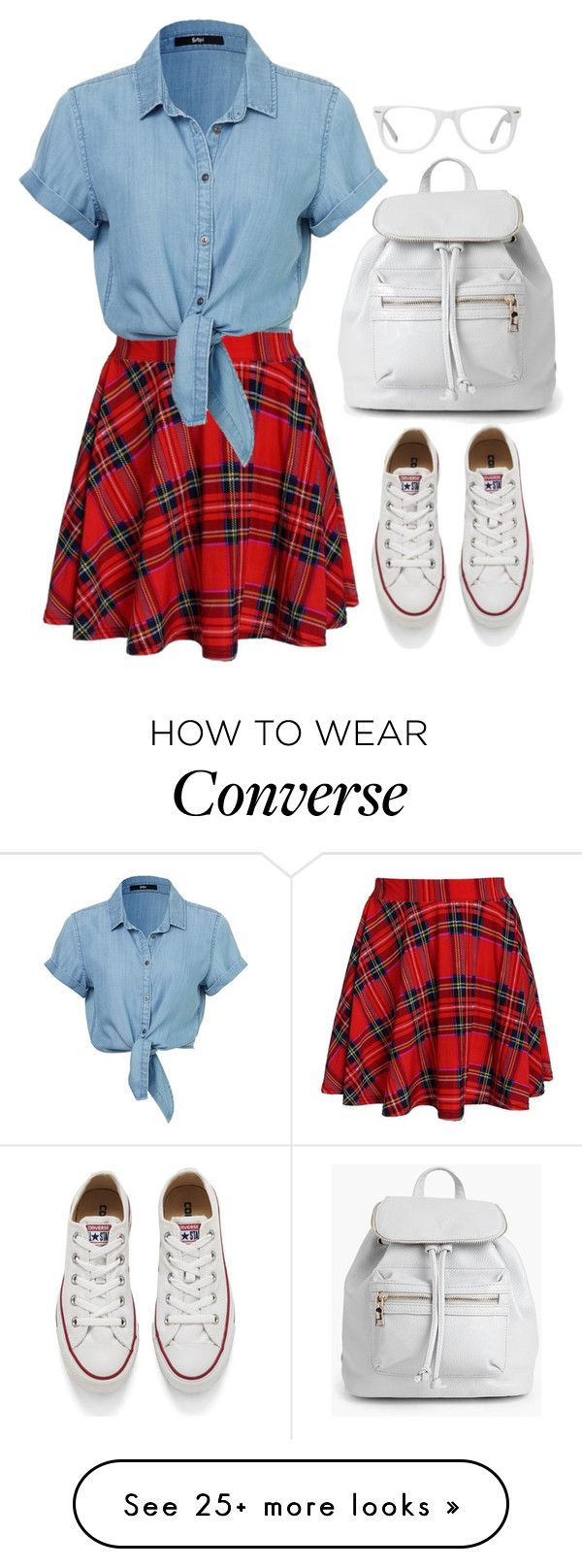 """Ruth"" by goodruth on Polyvore featuring Converse, Boohoo, Muse, women's clothing, women, female, woman, misses and juniors"