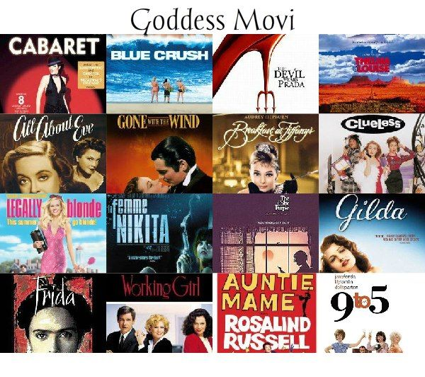 35 Empowering - girl-power - Goddess Movies and How to Watch them GoddessLife style | http://www.goddesslife.com/goddess-movies-and-how-to-watch-them-goddesslife-style