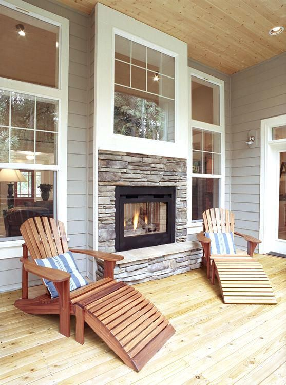 image result for indoor outdoor dual fireplaces house ideas rh pinterest co uk