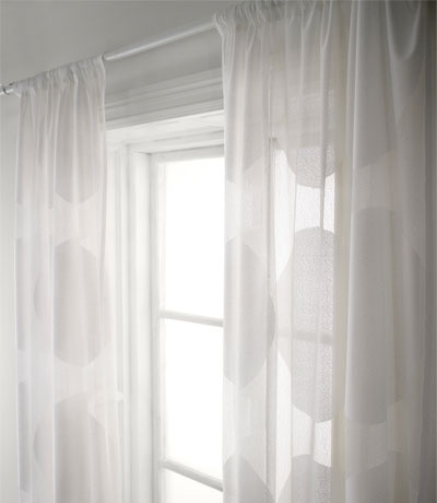Using textiles to insulate your windows and door openings. You can hang thick curtains in front of a window or a drafty door – especially in unused rooms or garage entries – to help keep heat inside a room during winter. In summer, use a lightweight curtain to block direct sun while allowing light to filter through.