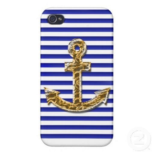 Funda iPhone estilo navy