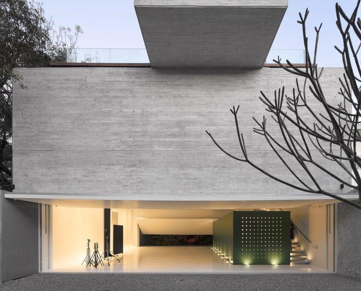Best Modern Exterior Concrete Images On Pinterest - A beautiful villa in ljubljana every minimalist will love
