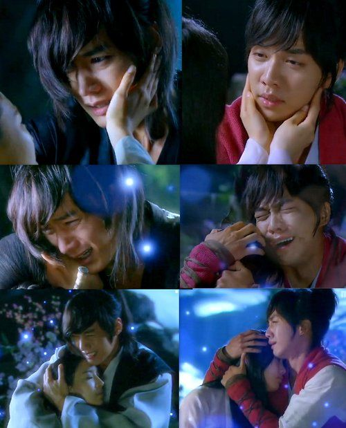 Gu Family Book messing with my feels!  Wol-ryung and Seo-hwa  Kang-chi and Yeo-wool
