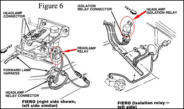 1986 Fiero Headlamp Diagram - Wiring Diagram Liry on