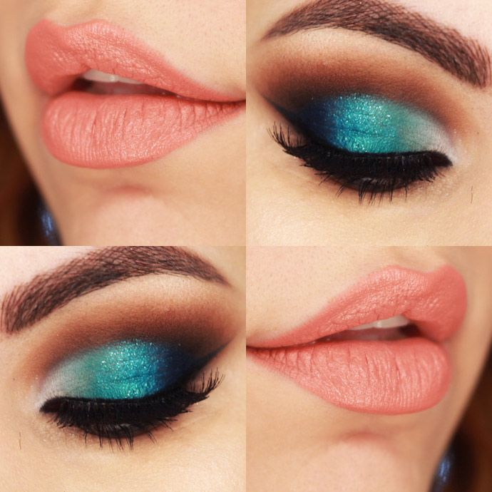 https://www.youtube.com/watch?v=SshQ8dgly0k - Maquiagem com Degradê de Cores Sereia e Cut Crease