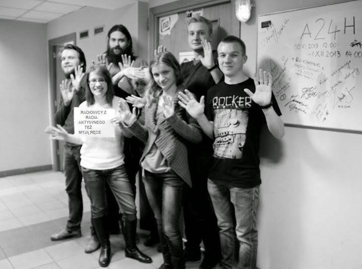 A oto wspierająca nas ekipa radio Aktywne :)