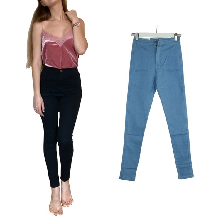 Jeans  2017 High Waist Jeans For Women Elastic Skinny Jeans Woman Pencil Denim Black Jeans Female Pants Calca Feminina Jeans Femme Plus ** AliExpress Affiliate's Pin. Find out more on AliExpress website by clicking the VISIT button