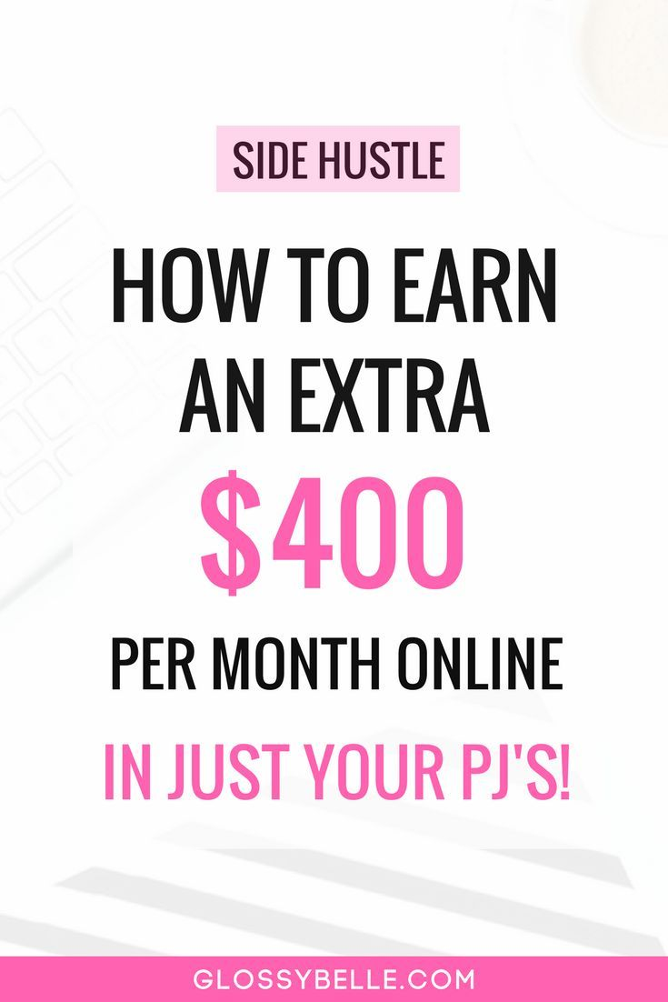 Earn An Extra $400 Per Month Online With Paid Surveys // If you're looking to easily earn an extra $400 to supplement your income each month, here are the top online sites that offer paid surveys for your opinions. online surveys | cash back | side hustle | make money online | earn extra cash