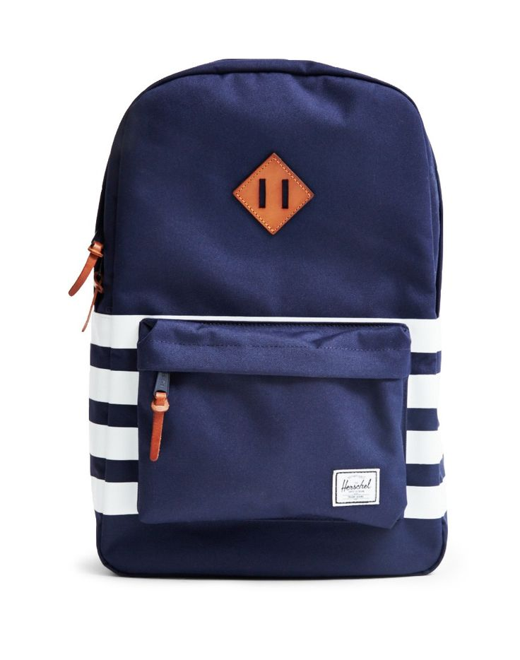 The Idle Man now stock Herschel Heritage Backpacks in navy. Get yours online now. - BLACK FRIDAY SALE NOW ON!!!