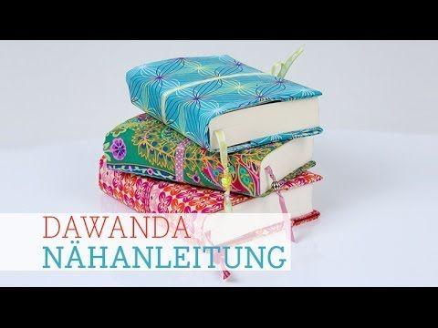 DaWanda Nähschule: Edle Buchhülle | pattydoo Blog