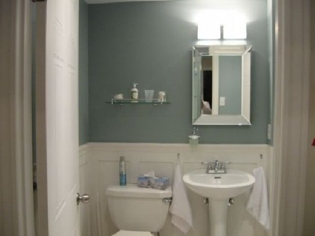 Small Bathroom Color Ideas: Paint Ideas For Small Bathrooms - Behr