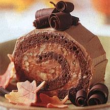 Godiva Autumn Roulade. Looks amazing.Chocolates Cake, Cake Rolls, Fall Recipe, Godiva Autumn, Chocolates Autumn, Autumn Roulade, Amazing Yummy, Sponge Cake, Autumn Chocolates