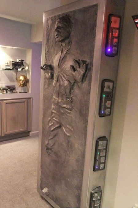 Star Wars Han Solo Frozen In Carbonite - Real