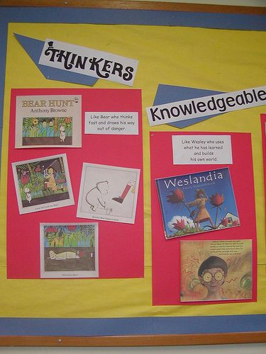 PYP/Learner profile picture book display