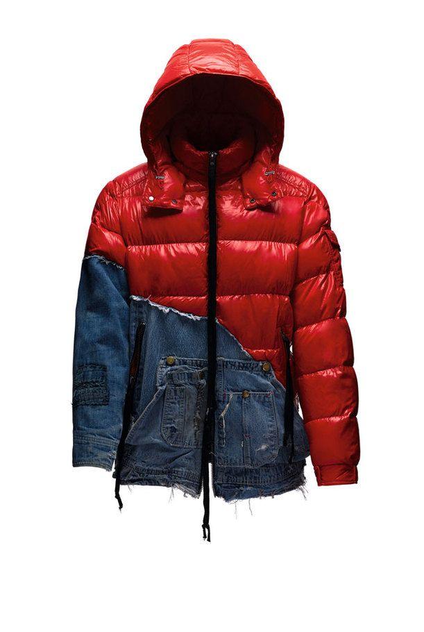 モンクレール×グレッグ・ローレン、デニム生地などを組み込んだダウンジャケットなど限定発売 | ファッションプレス